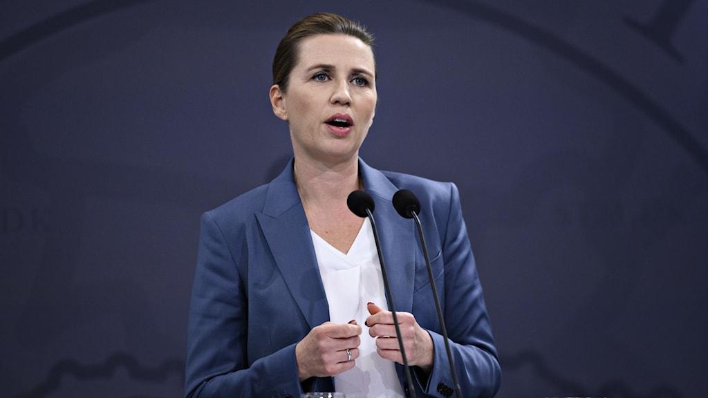 Danmarks statsminister, Mette Frederiksen.