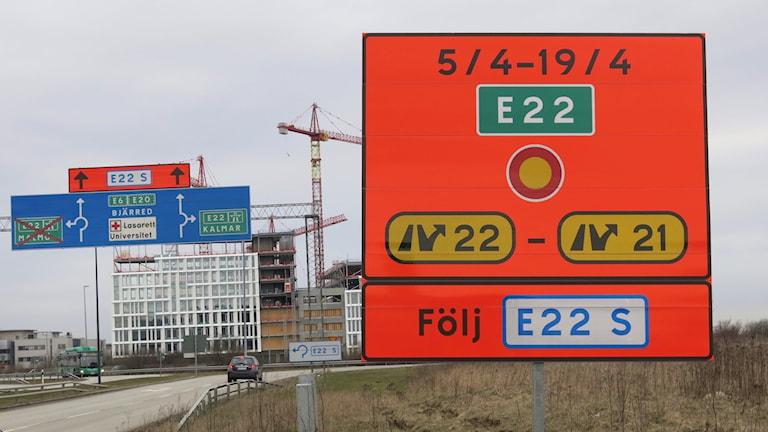 Under tre veckor stängs sträckan av för trafik.