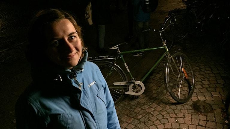 var Vera Chudnikova, ledamot vid Cykelfrämjandet.