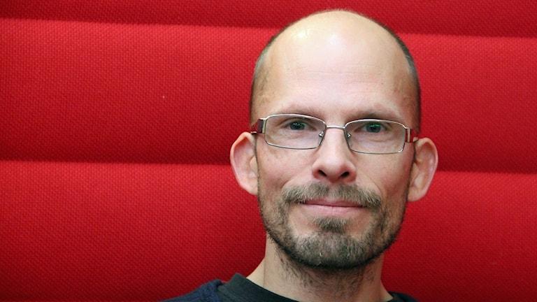 Tomas Jungert, psykolog i Lund som forskat om lärarens betydelse för att motverka mobbning. Foto: Hans Zillén/Sveriges Radio.