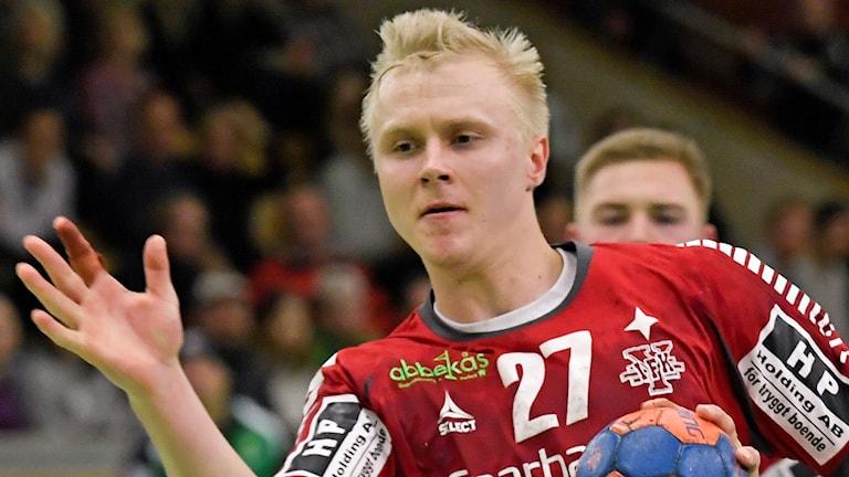 Ystads Johan Nilsson (27) Foto: Janerik Henriksson/TT