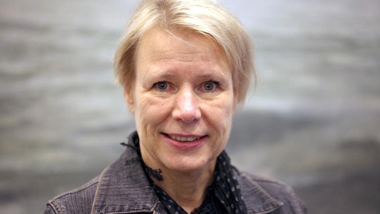 Marie Forslin, rektor, Kunskapsgymnasiet i Malmö. Foto: Karin Genrup/Sveriges Radio