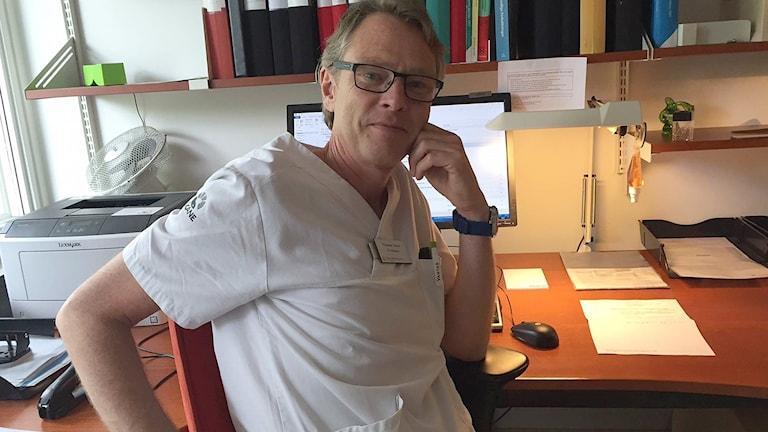 Thomas Jiborn, överläkare, urologi, Skånes universitetssjukhus Foto: Privat