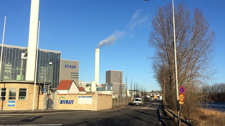 Sysav-brand på återvinningscentral är över.