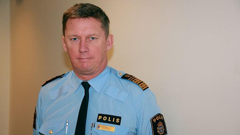 Klas Friberg,tf regionpolischef i Region Syd.