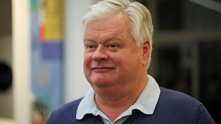 Lars-Ingvar Ljungman (M), ordförande, Skånemoderaterna. Foto: Karin Genrup/Sveriges Radio