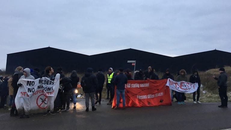 Demonstration förvaret Åstorp
