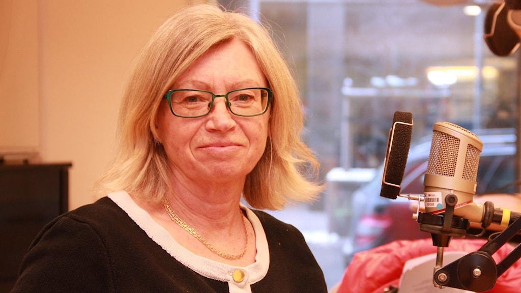 Margot Olsson, Malmö stads kvinnofridssamordnare.
