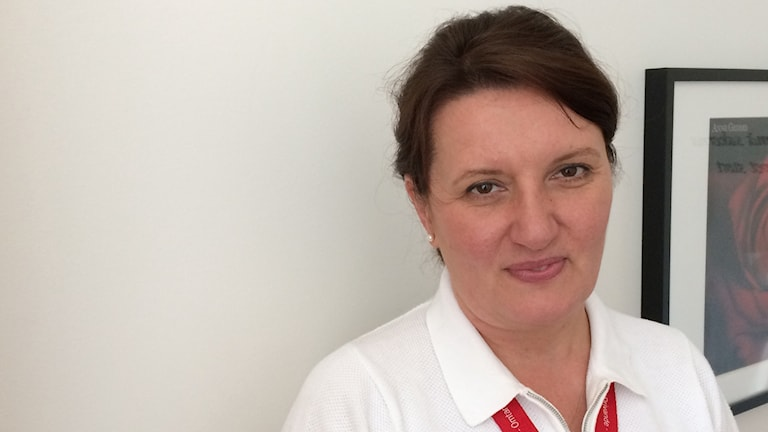 Margareta Kitlinski, sektionschef på reproduktionsmedicinskt centrum vid SUS i Malmö. Foto: Petra Haupt/Sveriges Radio.