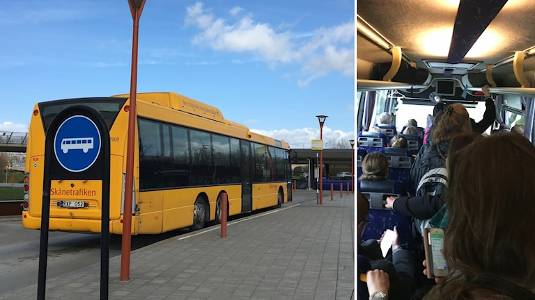 Regionbuss och full buss