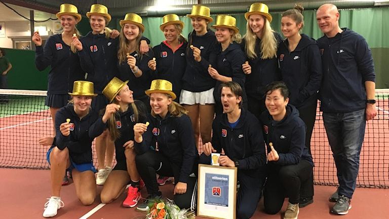 Helsingborgs TK - SM-vinnare i tennis damer