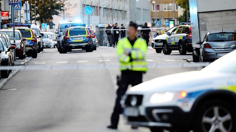 Skjutning Helsingborg