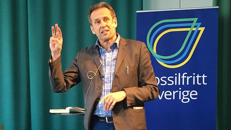 Svante Axelsson, nationell samordnare för fosilfritt Sverige.