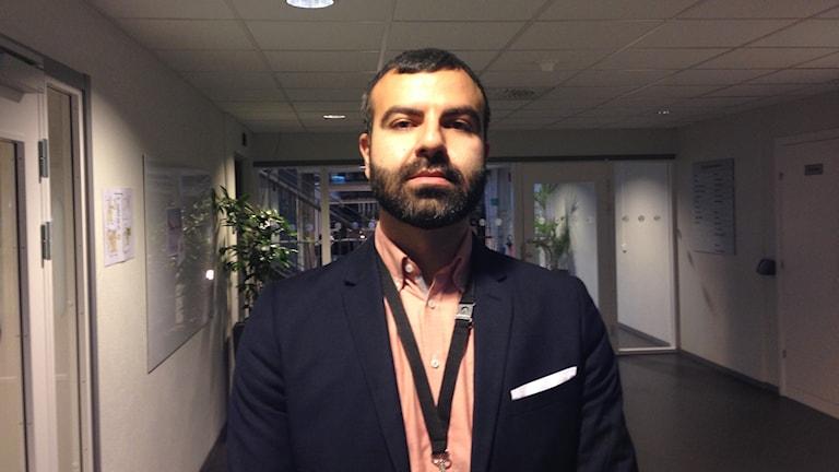 Daniel Salehi, processledare på kvalitetsavdelningen på Migrationsverket.