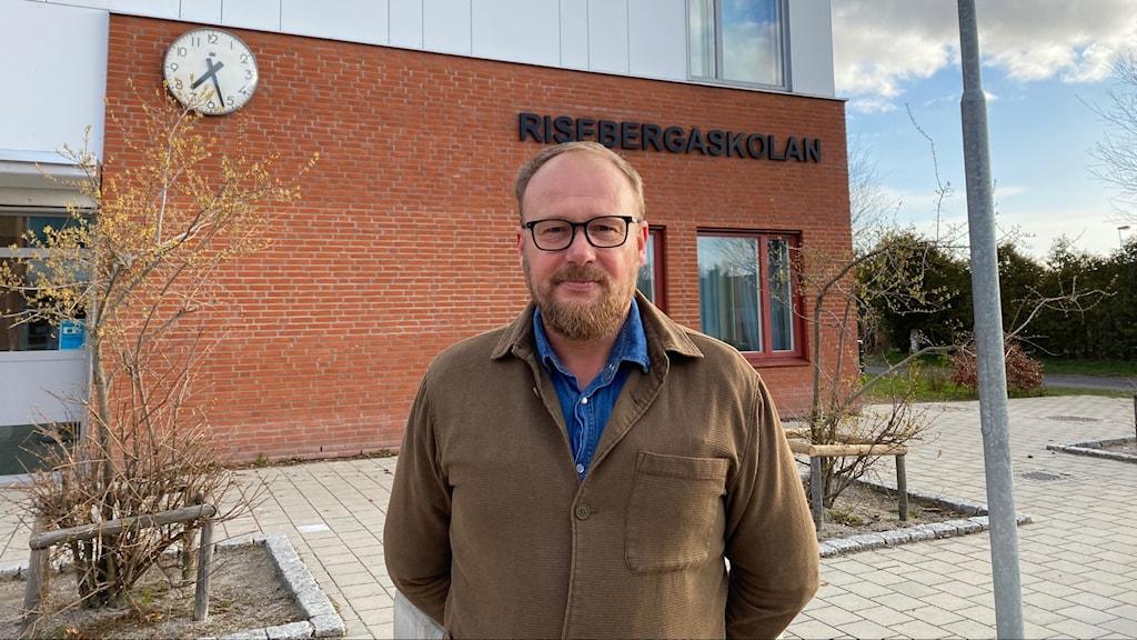 Peter Hansson, rektor Risebergaskolan