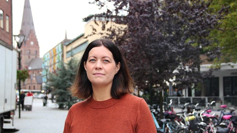 Fotografen Anna Bank.