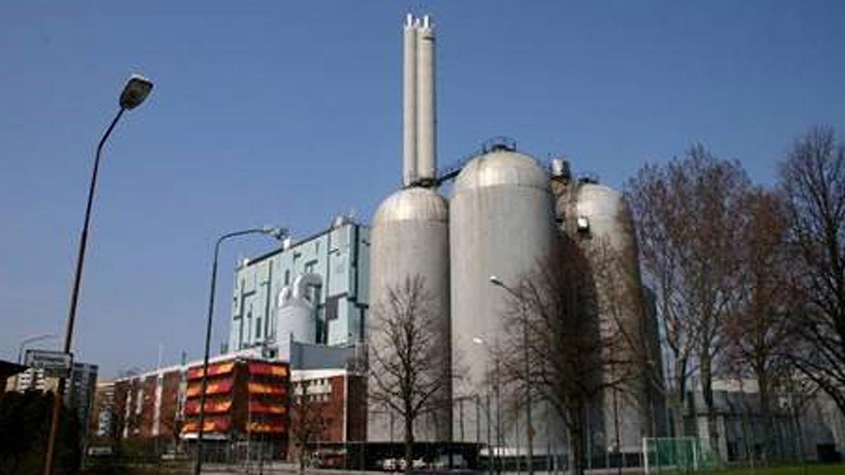 Heleneholms kraftvärmeverk i Malmö. Foto: E.on.