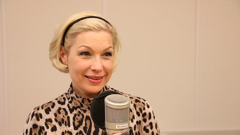 Anna-Karin Wyndhamn från tv-serien Supernanny.