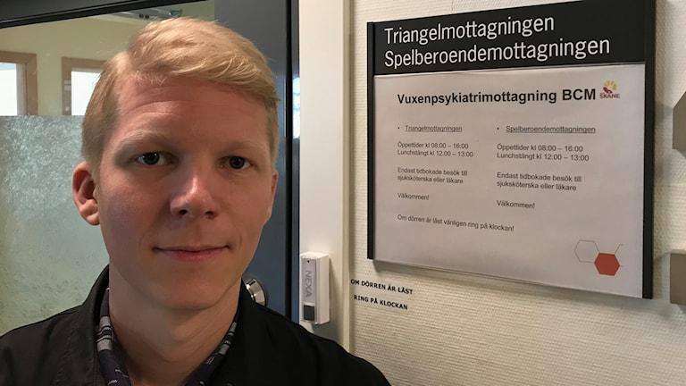 Per Askelöf, forskare och AT-läkare. Foto: Petra Haupt/Sveriges Radio