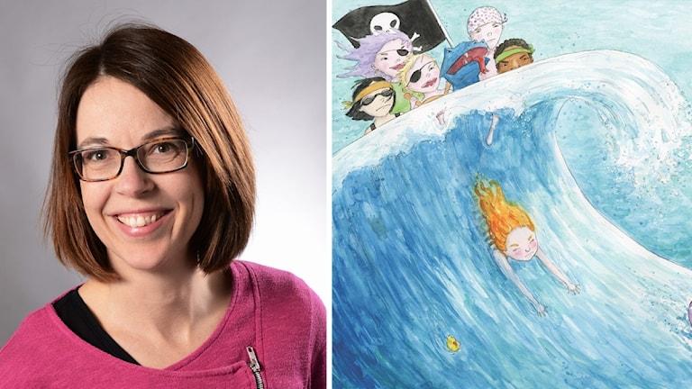 Författaren Lotte Lannerberth har skrivit, Johanna Rehn är illustratör.