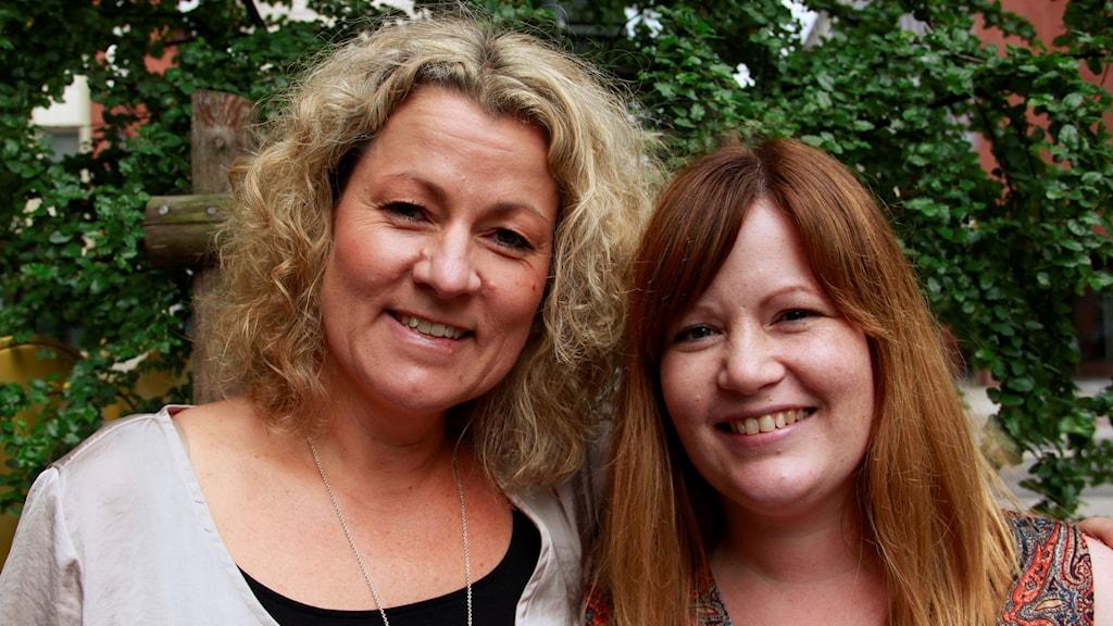 Helena Lindfors som driver småbarnspedagog utbildningen i Lund, och hennes tidigare elev Ida Quarfordt