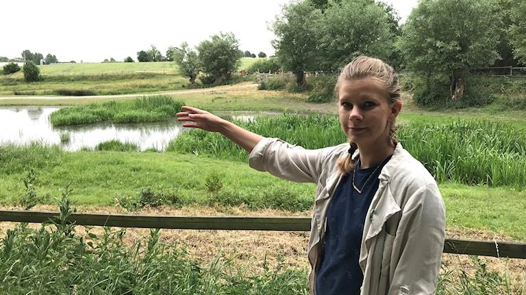 Emma Berginger, kommunalråd för Miljöpartiet