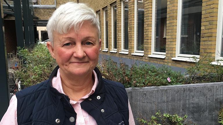 Elisabeth von Essen, forskare och doktor i miljöpsykologi vid Sveriges lantbruksuniversitet, SLU, i Alnarp. Foto: Victor Pandurescu/Sveriges Radio