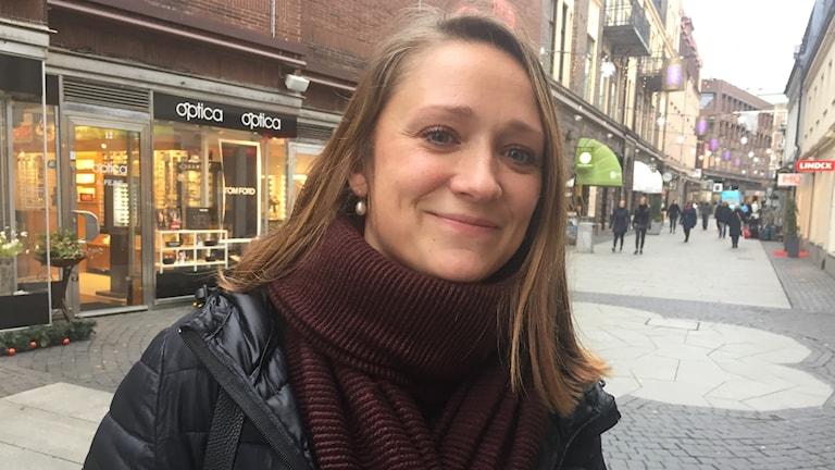 Hanna Candell på Kullagatan i Helsingborg.