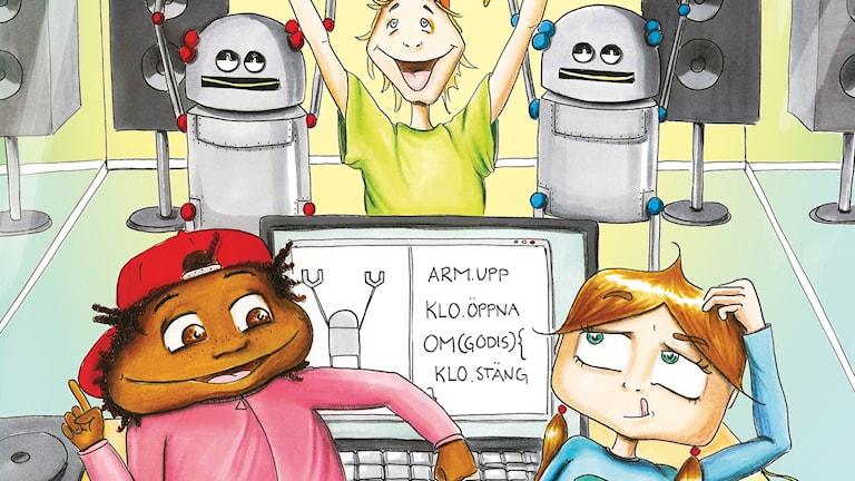 Inga ingenjör är en bok för barn i lågstadiet om teknik.