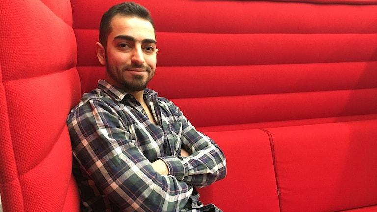 Sadeq al-Ghaffari, läkare från Irak med i Ett nytt Sverige.