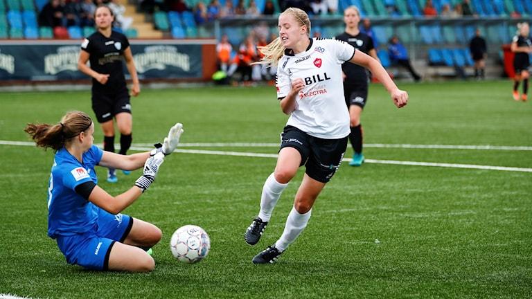 IF Limhamn Bunkeflo förlorade mot Vittsjö under lördagen. OBS - bilden är från en annan match. Foto: Thomas Johansson/TT