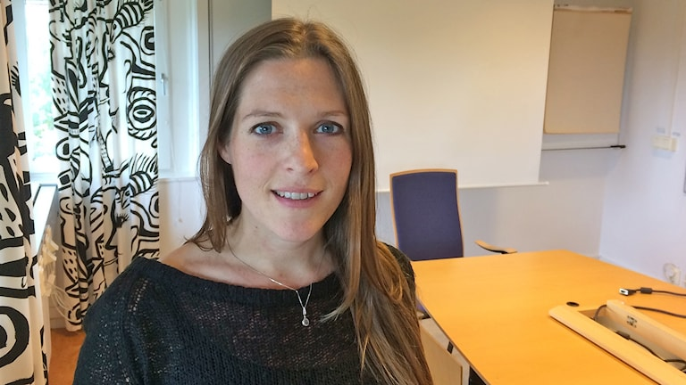 Sofie Persson, forskare i hälsoekonomi på medicinska fakulteten i Lund. Foto: Petra Haupt/Sveriges Radio.