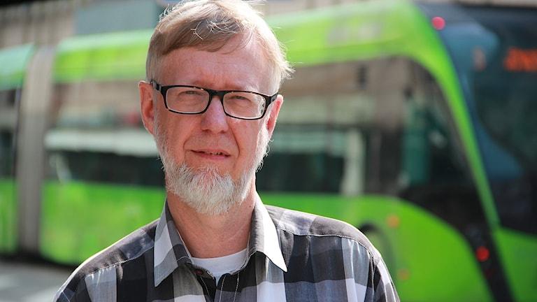 Ronny Öhman, huvudskyddsombud på SUS för Mellersta Skånes läkarförening.