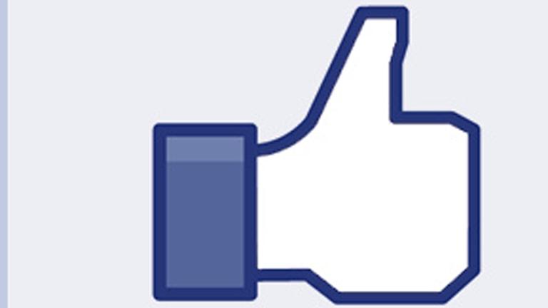 Gilla-knappen på sociala medier.