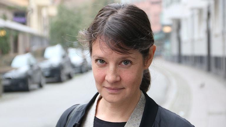 Linda Dahl, etnolog och matskribent. Foto: Karin Genrup/Sveriges Radio