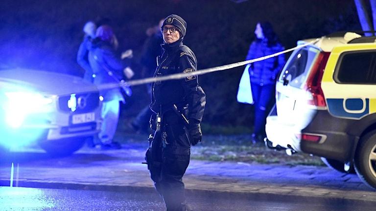 Man skadad i skottlossning i Malmö
