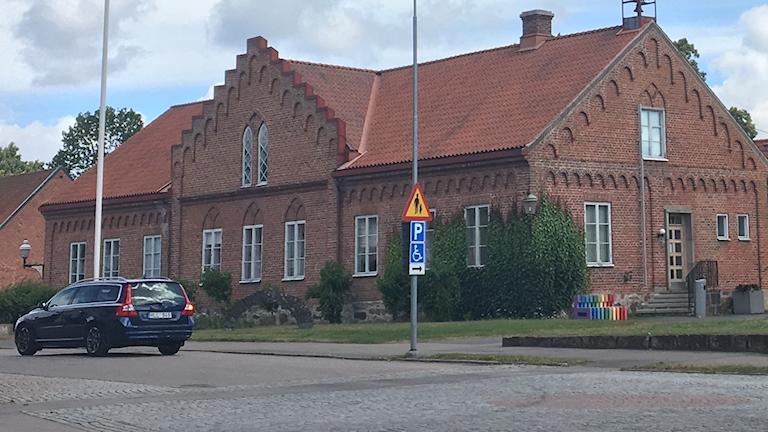 Kommunhuset i Broby i Östra Göinge kommun.