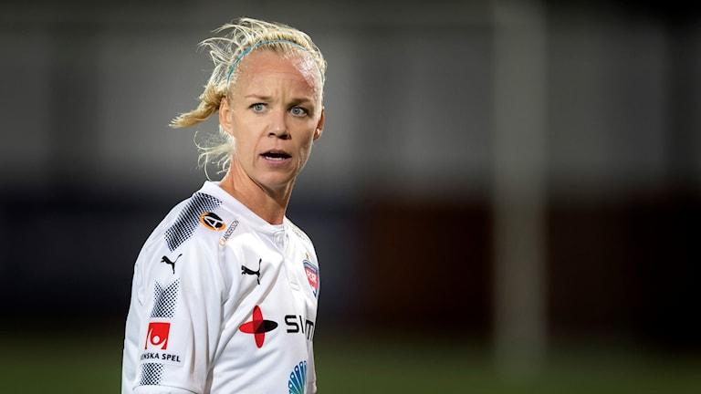 Rosengårds Caroline Seger. Foto: Thomas Johansson/TT
