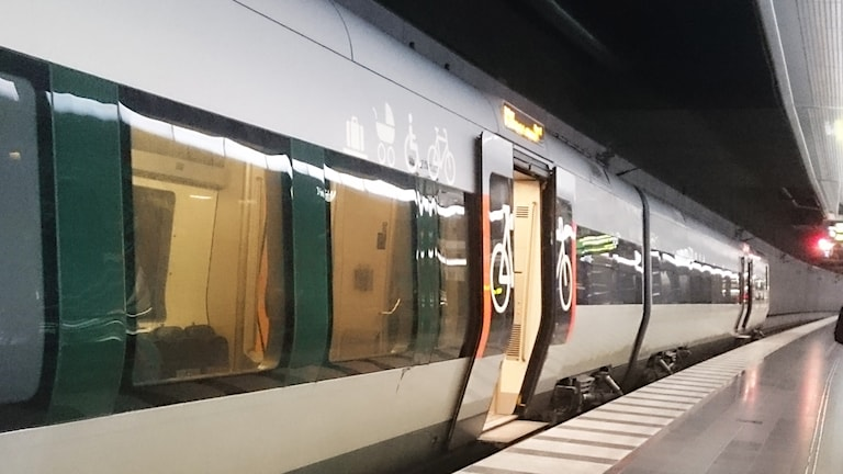 Tåg på Malmö c.