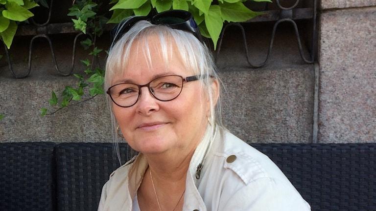 Tina Lindau, narkossjuksköterska, Helsingborg Foto: Petra Haupt/Sveriges Radio