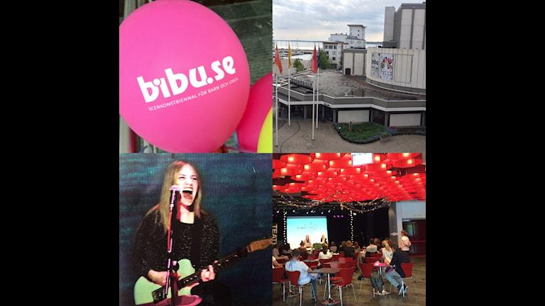 Just nu pågår scenkonstbiennalen BIBU i Helsingborg.