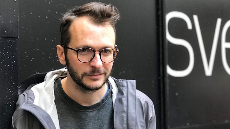 Dražen Kuljanin är aktuell med sin andra långfilm som ska tävla på filmfestivalen i Warsawa. Foto: Karin Genrup/Sveriges Radio