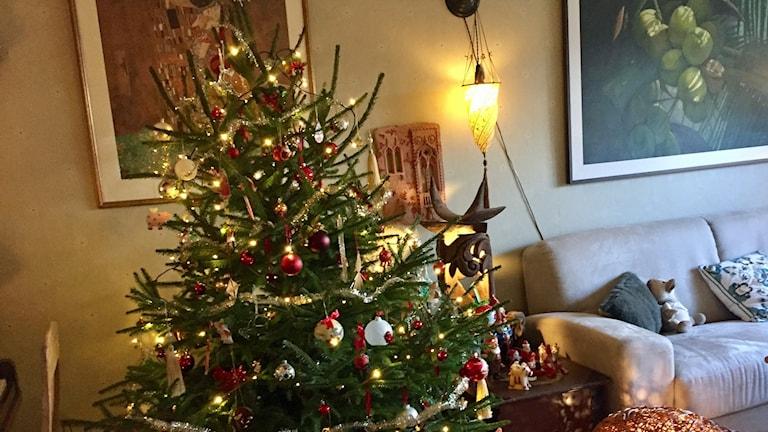 Julen har startat hemma hos Eva Lindberg - men på julafton är hon i Nya Zeeland.