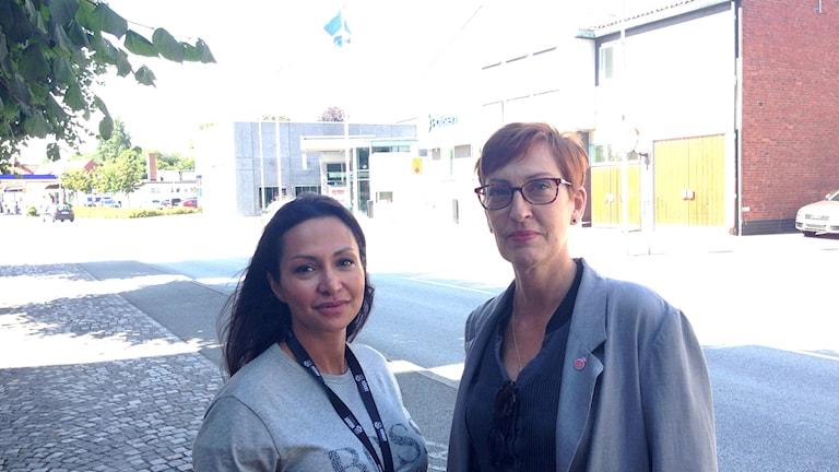 Bahareh Mohammadi Andersson och Susanne Meijer (S)