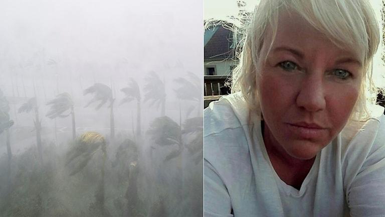 Sofia Dahlgren är fast på hotellet i Orlando.