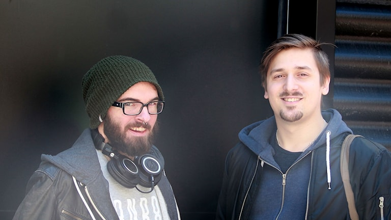 Alexander Hedvall och Emil Svensson.