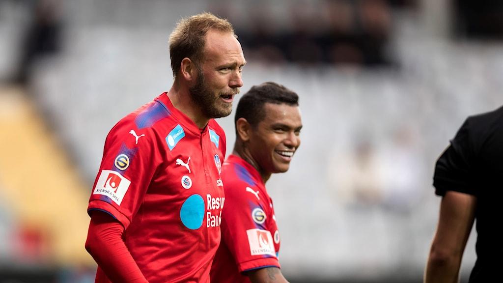 Det oavgjorda resultatet innebär att Helsingborg är tvåa i tabellen, på samma poäng som Falkenberg och nio poäng före Eskilstuna på kvalplats.