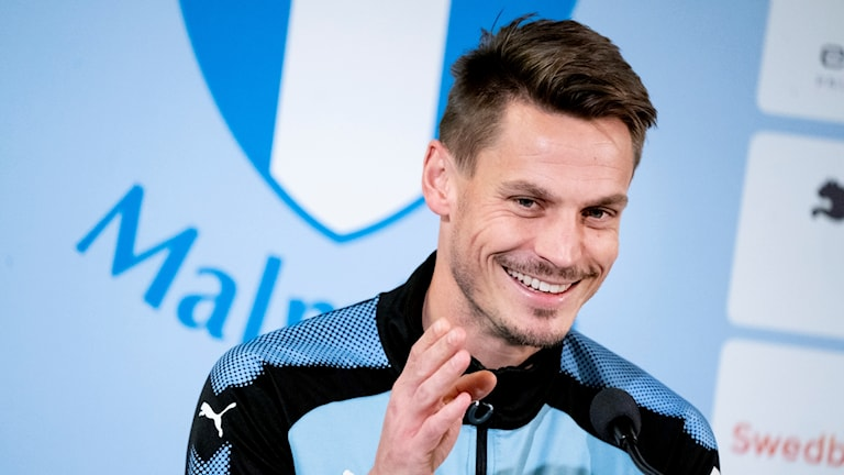 Markus Rosenberg förlänger kontraktet med Malmö FF till och med 2019. Foto: Johan Nilsson/TT..