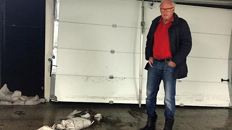 Christer Christoffersson i Helsingborg, stormdrabbad av Urd
