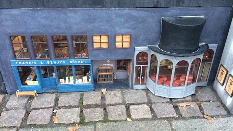 Mössen har öppnat bokhandel.